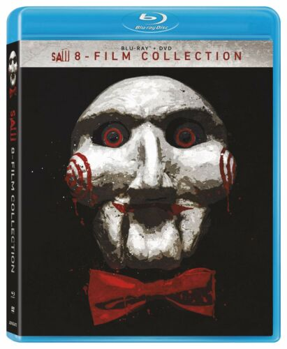 Saw 1 2 3 4 5 6 7 8 Film Collection One to Eight New Region B Blu-ray Box Set