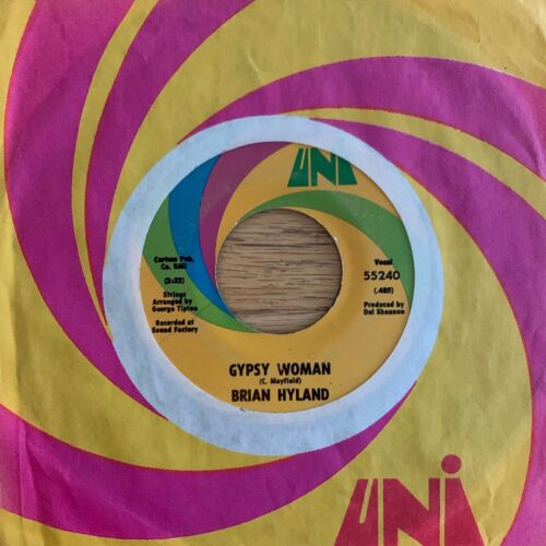 "Brian Hyland - Gypsy Woman // 7"" - 1.US-Pressing 1970"