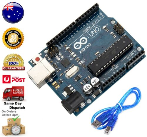 Arduino Compatible Uno R3 with USB Cable + Free Shipping From AU