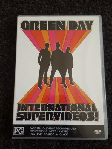 GREEN DAY INTERNATIONAL SUPERVIDEOS (15 PROMO VIDEOS)  DVD free postage
