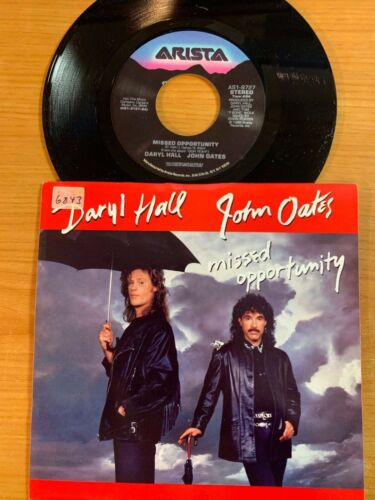 """Daryl Hall & John Oates - Missed Opportunity // 7"""" - 1.US-Pressing 1988 - TOP"""