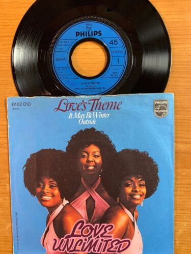 """Love Unlimited - Love's Theme // 7"""" - 1.German-Pressing 1974"""