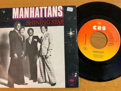 "Manhattans - Shining Star // 7"" - 1.NL-Pressing 1980 - Very good condition"