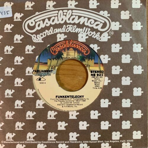 "Parliament - Funkentelechy // 7"" - 1.US-Pressing 1977 - Top condition"