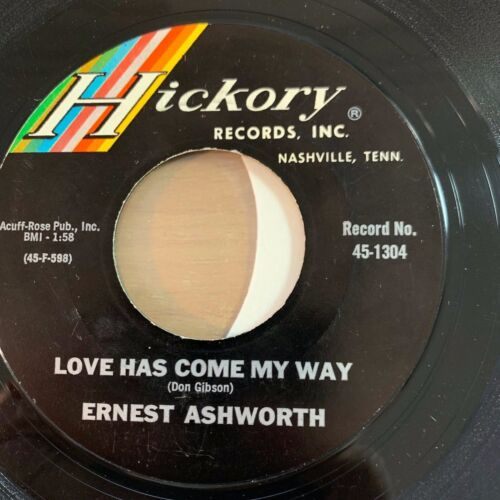 "Ernest Ashworth - Because I Cared // 7"" - 1. US-Pressing 1965"