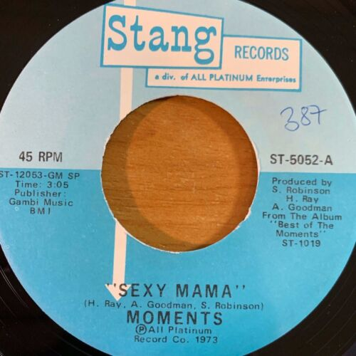 "Moments - Sexy Mama // 7"" - 1. US-Pressing 1973 - TOP condition"
