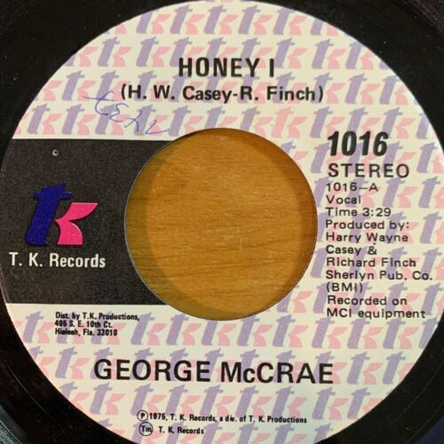 "George McCrae - Honey I // 7"" - 1. US-Pressing 1975"