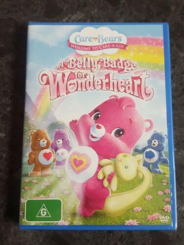 Care Bears - A Belly Badge For Wonderheart (DVD) new sealed free postage