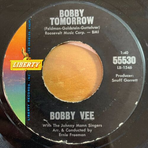 "Bobby Vee - Charms // 7"" - 1. US-Pressing 1963"
