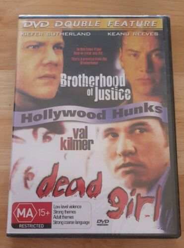 Brotherhood of Justice-1986 Dead Girl-1997-2 DVD New and sealed Free Postage