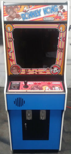 Top Holiday Gifts DONKEY KONG ARCADE MACHINE by NINTENDO 1981 (Excellent Condition) *RARE*