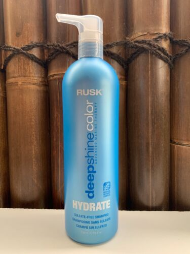 Rusk Deepshine Color Hydrate Sulfate-Free Shampoo 739ml Coloured Hair