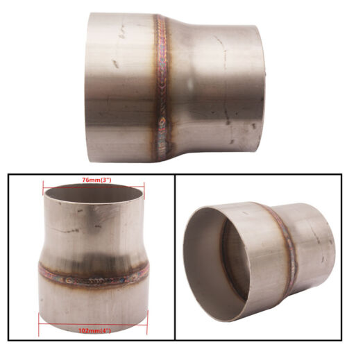 "102mm 4/""inch x 250mm stainless steel 1.5mm wall tube pipe exhaust repair 100mm"