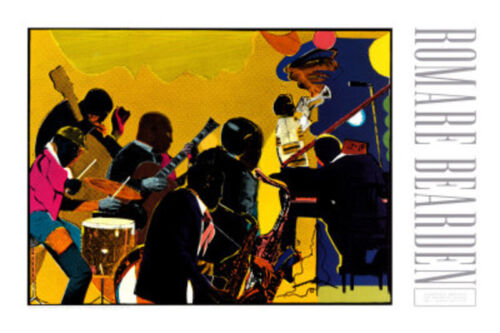 Out Chorus by Romare Bearden Art Print African American Jazz Music Poster 23x35