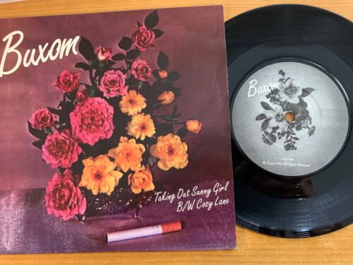 """Buxom - Taking Out Sunny Girl // 7"""" - 1. UK-Pressing 1996 - TOP condition"""