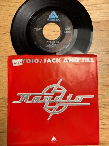 """Raydio - Jack And Jill // 7"""" - 1. US-Pressing 1977 - TOP condition"""