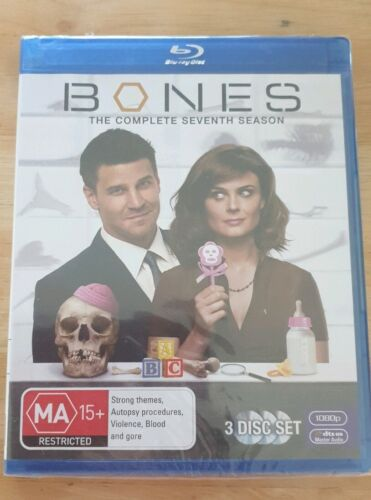 Bones The Complete Seventh Season Blu-ray New And Sealed Free Postage