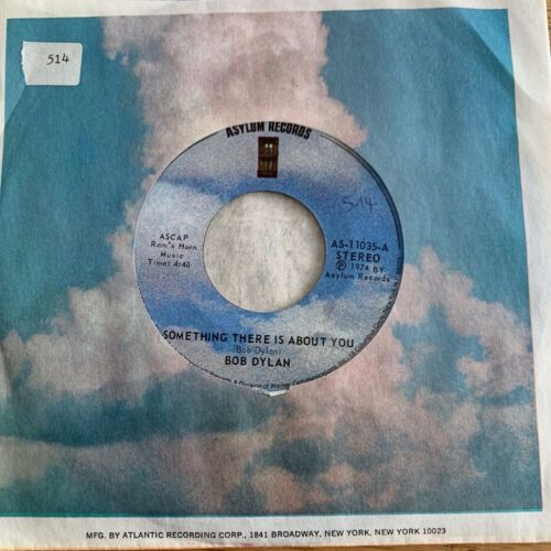 "Bob Dylan - Something There Is About You // 7"" - 1. US-Pressing 1974 - TOP"
