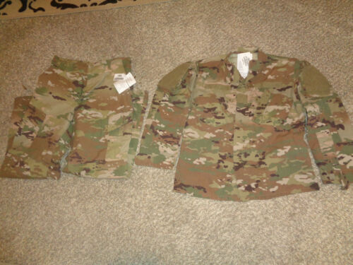 USGI OCP FR SCORPION Camo Uniform Jacket & Pants SET * MEDIUM REGULAR * NWTUniforms - 104023