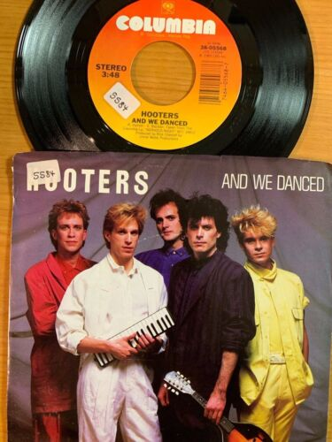 """Hooters - And We Danced // 7"""" - 1. US-Pressing 1985 - TOP condition"""