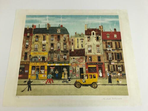 Michel Delacroix Hand Signed & Numbered Limited Edition Lithograph
