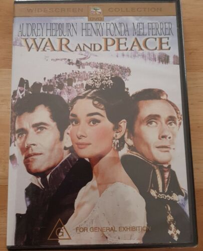 war and peace Audrey Hepburn DVD New and sealed Free Postage