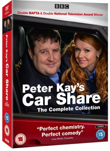 Peter Kays Car Share Season 1 and 2 The Complete Series Collection New DVD