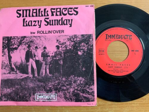 """Small Faces - Lazy Sunday // 7"""" - 1. French-Pressing 1968"""