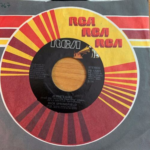 """Rick Springfield - Jessie's Girl // 7"""" - 1. US-Pressing 1981 - TOP condition"""