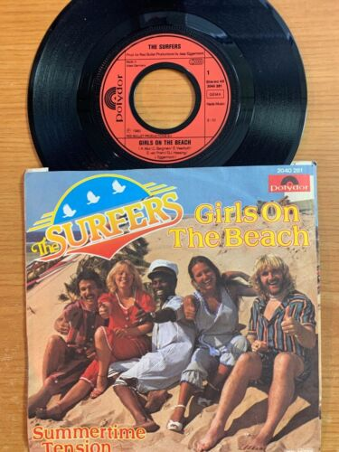 """Surfers - Girls On The Beach // 7"""" - 1. German-Pressing 1980 - TOP condition"""
