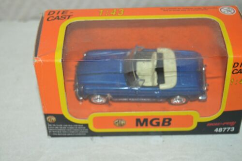 VOITURE NEW RAY DIE-CAST MGB 1967 BOITE 1/43 CAR AUTO