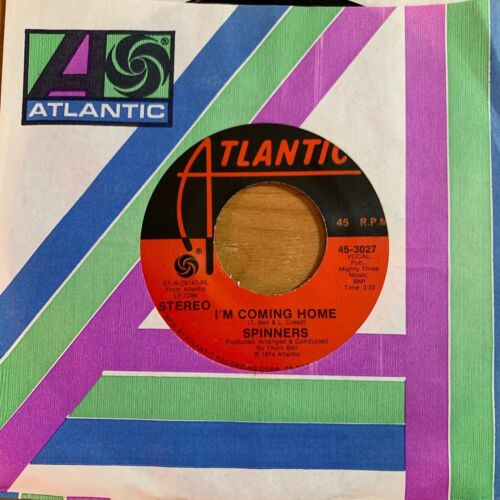 """Spinners - I'm Coming Home // 7"""" - 1. US-Pressing 1974 - TOP condition"""