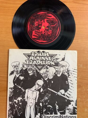 """Truth Against Tradition - Discriminations/ 7""""- 5-Track-EP - 1. German Press. TOP"""