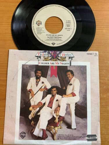 """Isley Brothers - Colder Are my Nights // 7"""" - 1. German-Pressing 1985"""