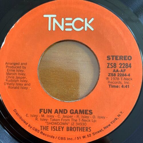 """Isley Brothers - Winner Takes All // 7"""" - 1. US-Pressing 1979 - TOP condition"""