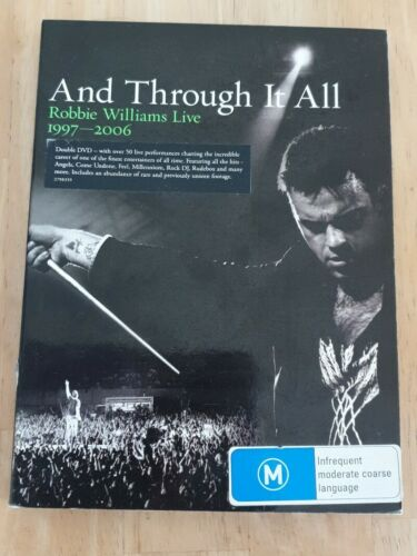 And Through It All - Robbie Williams Live (97-06) DVD Like New Free Postage