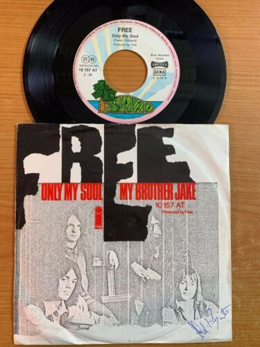"""Free - My Brother Jake // 7"""" - 1. German-Pressing 1971 - TOP condition"""