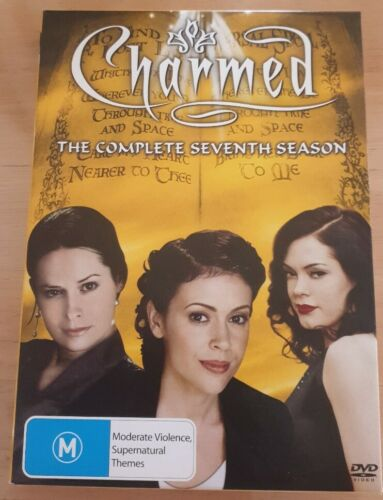 CHARMED  The Complete Seventh Season 6 DVD Box Set Like New Free Postage