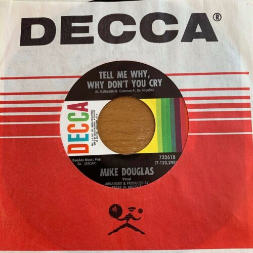 """Mike Douglas - That's A Woman // 7"""" - 1. US-Pressing - TOP condition"""
