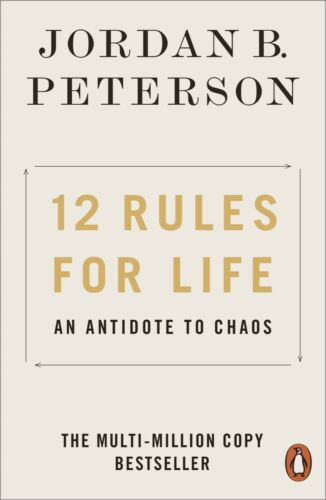 NEW 12 Rules for Life 2019 by Jordan B. Peterson Paperback Book Free Shipping
