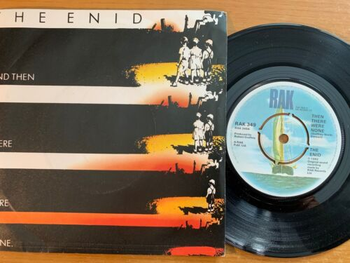 """The Enid - And The There Were None // 7"""" - 1. UK-Pressing 1982"""