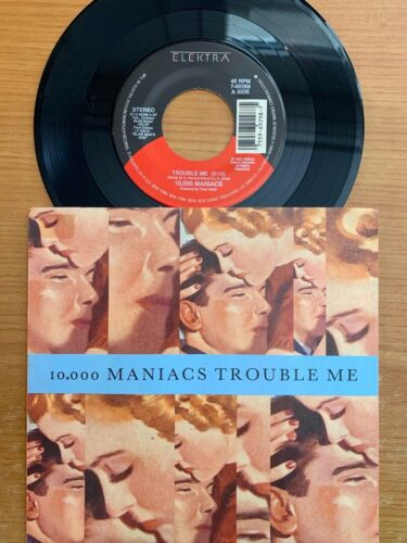 """10'000 Maniacs - Trouble Me // 7"""" - 1. US-Pressing 1989 - TOP condition"""