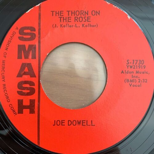 """Joe Dowell - The Thorn On The Rose // 7"""" - 1. US-Pressing 1961"""