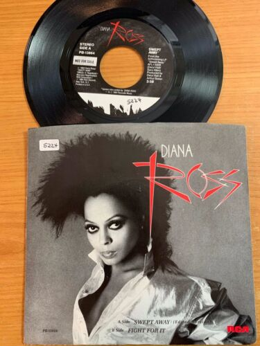 """Diana Ross - Swept Away // 7"""" - 1. US-Pressing 1984 - TOP condition"""