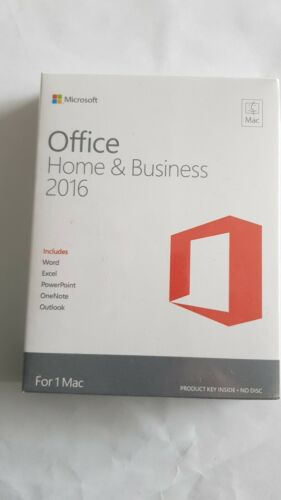 Microsoft Office Home and Business 2016 - 1 MAC