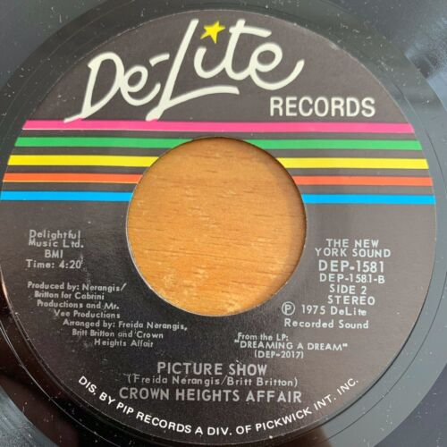 """Crown Heights Affair - Foxy Lady // 7"""" - 1. US-Pressing 1975 - TOP condition"""