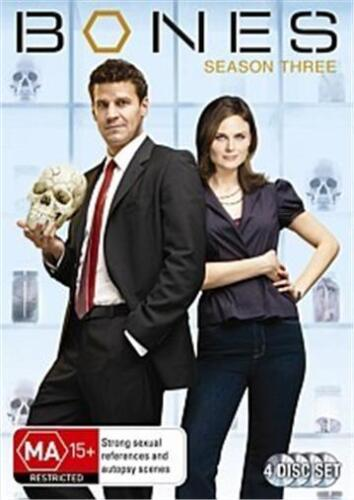 BONES SEASON 3 : NEW DVD