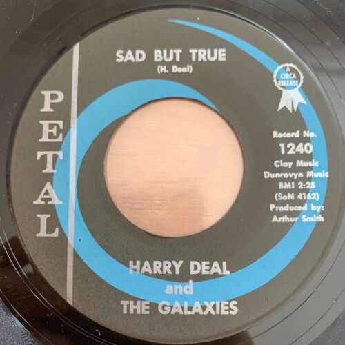 """Harry Deal & The Galaxies - Smacky Mouth // 7"""" - 1. US-Pressing 1964"""