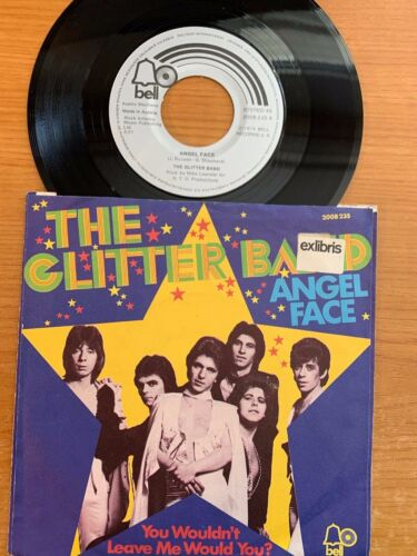 """Glitter band - Angel face // 7"""" - 1. German-Pressing 1974 - TOP condition"""