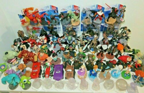 Disney Infinity 1.0, 2.0 & 3.0 figures & playsets. Shipping capped at $8.